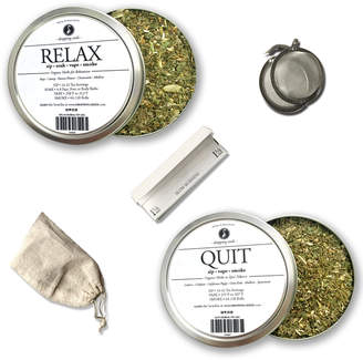 Blend of America Droppingseeds Quit & Relax Multi-Use Herbal Bundle