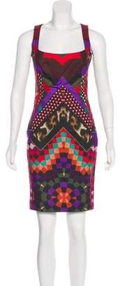 Just Cavalli Abstract Print Sleeveless Dress w/ Tags