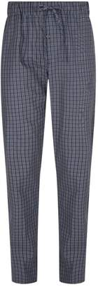 Hanro Cotton Check Pyjama Bottoms