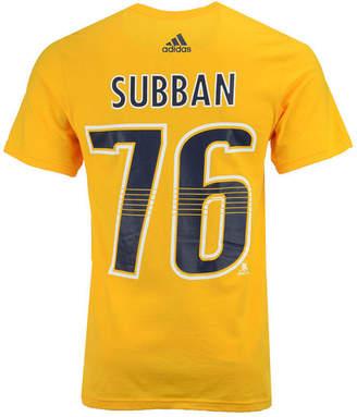 adidas Men's Pk Subban Nashville Predators Silver Player T-Shirt