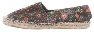 Etoile Isabel Marant Floral Canvas Espadrilles