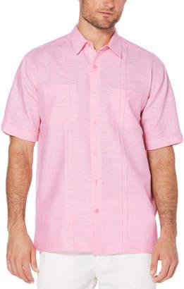 Cubavera Big & Tall Two-Pocket Pintuck Shirt