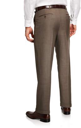 Neiman Marcus Men's Italian Wool Dress Pants