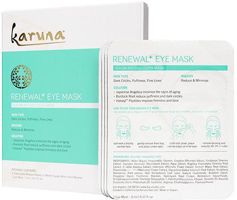 Karuna Skin Renewal Eye Mask 4 pair