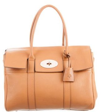Mulberry Leather Bayswater Bag $695 thestylecure.com