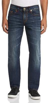 True Religion Ricky Relaxed Fit Jeans in Dark Monorail
