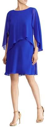 Ralph Lauren Draped Overlay Dress