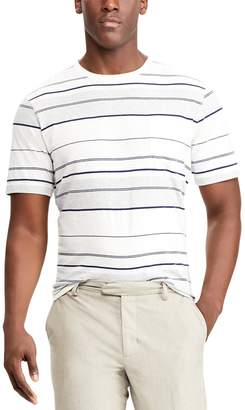 Chaps Men's Classic-Fit Striped Crewneck Tee