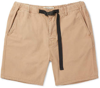 Remi Relief Slim-Fit Cotton-Twill Shorts