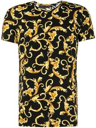 Versace baroque leaf T-shirt