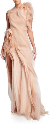 Jason Wu Collection Crinkled Organza Gown