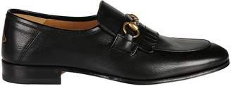 Gucci Horsebit Lace-up Shoes