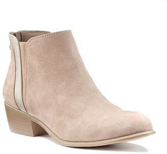 Candie's® Women's Layered Ankle Boots $59.99 thestylecure.com