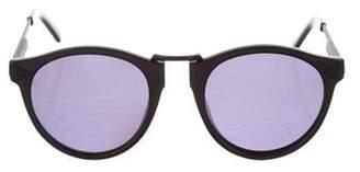 Karen Walker Hemingway Round Sunglasses
