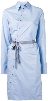 A.F.Vandevorst tie waist shirt dress