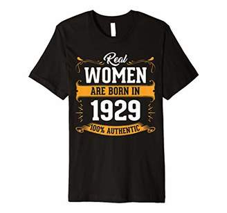 Made In 1929 Vintage 90th Yrs Old Birthday Shirt Gift QQA18