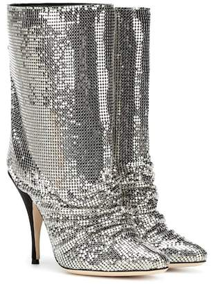 Marco De Vincenzo Chainmail ankle boots