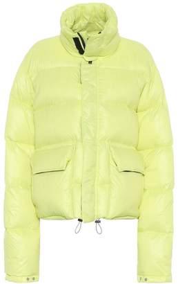 Unravel Reversible down puffer coat