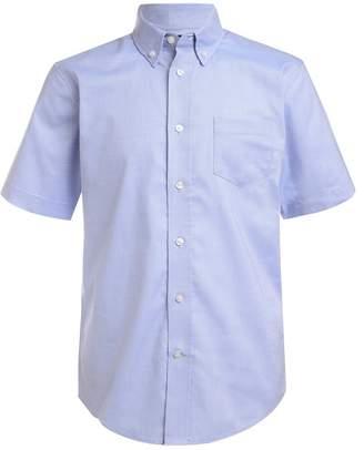 Nautica Short Sleeve Oxford Uniform Shirt (Big Boys)