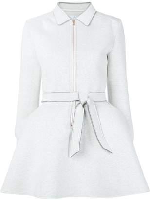 Julien David front zip dress