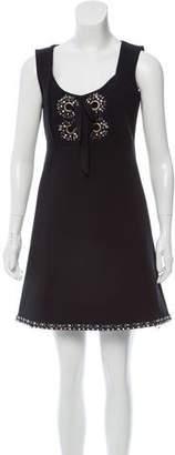 Manoush Embellished Mini Dress
