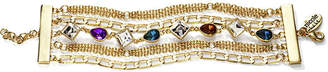 Nicole Miller Nicole By nicole by Multicolor Crystal Chain Bracelet