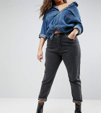N. Liquor Poker Plus Boyfriend Jeans With Stepped Waist