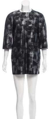 Michael Kors Wool & Silk-Blend Dress