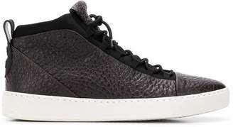 Alexander Smith panel hi-top sneakers