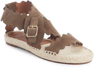 Chloé Lauren Strappy Scalloped Sandal