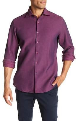 Stone Rose Waffle Slim Fit Shirt