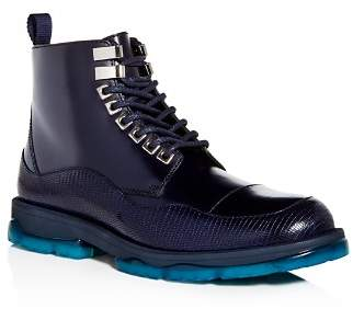Jimmy Choo Men's Baldwin Leather Cap Toe Boots