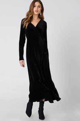 Rut & Circle Rut&Circle Velvet Coat Dress