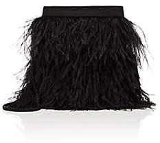 Barneys New York Women's Satin Pouch - Black