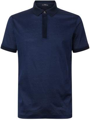 HUGO BOSS Honeycomb Slim Fit Polo Shirt