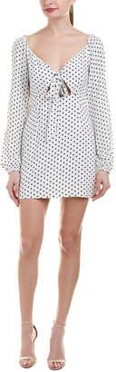 Cotton Candy Off-The-Shoulder Shift Dress