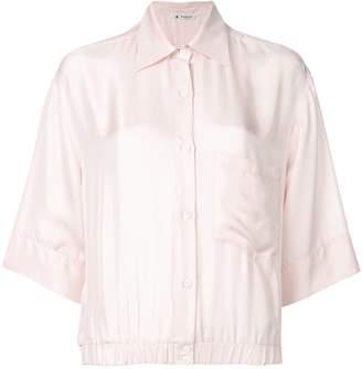 Barena elastic waist 3/4 sleeve shirt