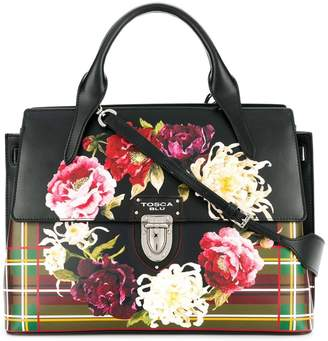 Tosca floral print tote