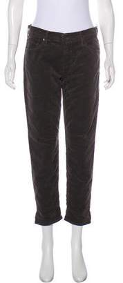 Mother Mid-Rise Straight-Leg Pants