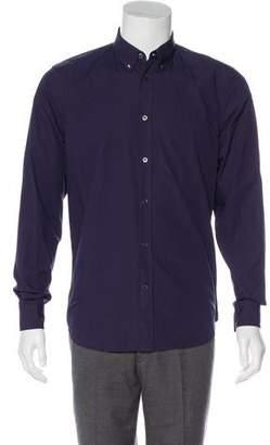 Marc Jacobs Point Collar Button-Up Shirt