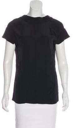Marni Short Sleeve Low Back Top