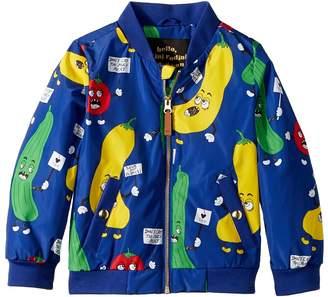 Mini Rodini Veggie Baseball Jacket Kid's Coat