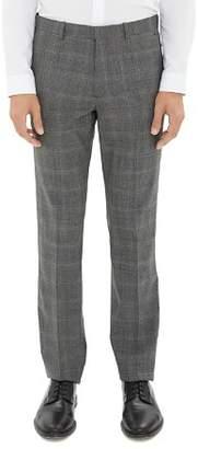 Theory Mayer Tonal Glen Plaid Dress Pants