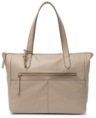da0dbd79b Fossil Brown Leather Tote Bags - ShopStyle