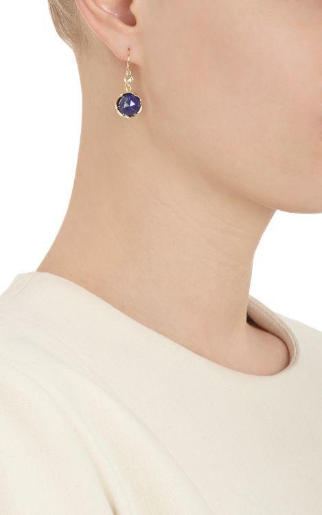 Irene Neuwirth Gemstone Double-Drop Earrings-Colorless