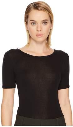 Vince Solid Ringer T-Shirt