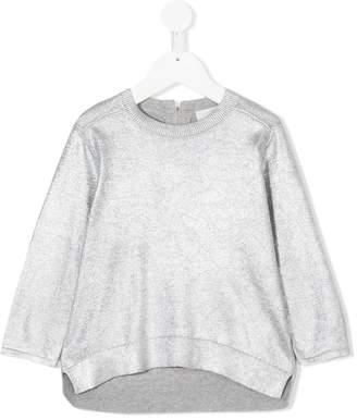 Stella McCartney metallic sweatshirt