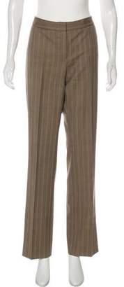 Lafayette 148 Wool Mid-Rise Wide-Leg Pants