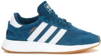 adidas I-5923 Dark Teal Color Mesh And Suede Sneaker