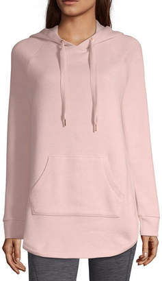 Xersion Womens Long Sleeve Fleece Hoodie